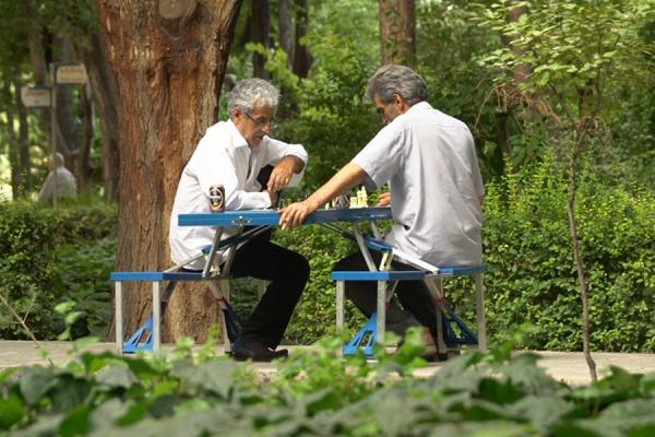 نیمکت و میز تاشو مناسب برای باغ