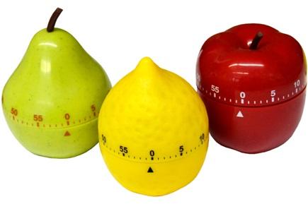 تایمر غذا طرح میوه